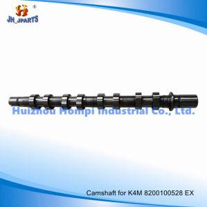 Renault K4m IntまたはExhのための自動車部品のカムシャフト8200100527 K9K/F8q/F9q/G8t/K7m/K7j/R12/R9/F4r