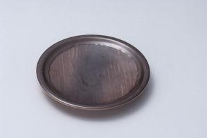 100 % de la mélamine de qualité alimentaire côté de la plaque ronde plat (JT13838-06)