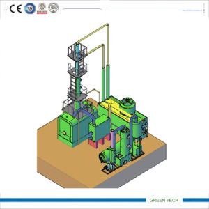 Schwarzes Oil Purification und Distillation Machine 10ton