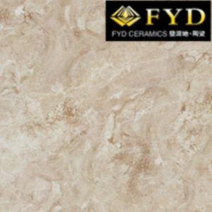 Fqa1004cappuccino, Verglaasde Marmeren de tegel-Vloer van het Porselein Tegel, de Marmeren Tegels van de Bevloering