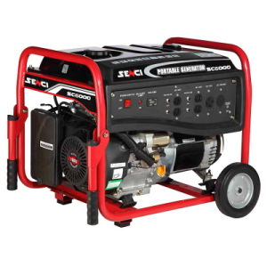 Supplier professionale di Generating Set Small Portable Power 5.0kw Gasoline Generator con Key Inizio