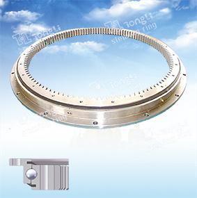 Светлое кольцо Slewing шарика Петь-Рядка шестерни /L-Shaped/Inner европейского стандарта серии/Slewing
