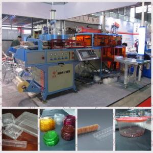 Máquina de formação plástica automática cheia da película plástica do PVC Hy-51/62