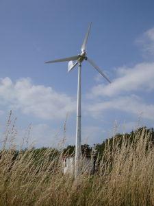 Het groene Systeem van de Macht van de Windmolen van de Energie