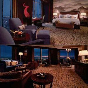Meubles de chambre à coucher d'hôtel