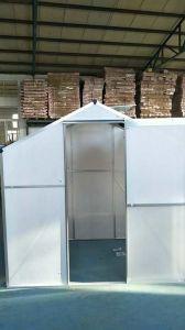 Casa de jardim de boa qualidade com folha de policarbonato Série CH
