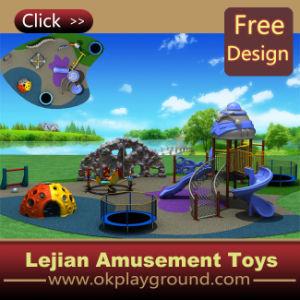 Ce classique de l'équipement de terrain de jeux de plein air pour les enfants en plastique (X1453-5)