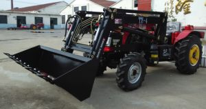 Pequena o Trator com Carregador Dianteiro 40HP Trator Tt404