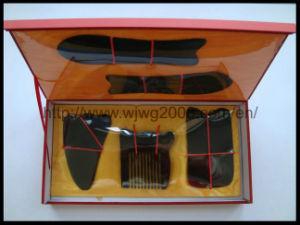 Gua Ша инструменты - Черный Ox звукового сигнала (скрежет) (G-5) акупунктуры