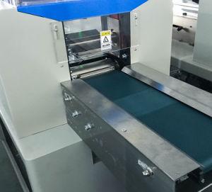 precio de fábrica de flujo de servilleta de cuchillería automática Máquina de embalaje almohada