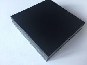 Эср материал Бакелитового Anti-Static черного цвета