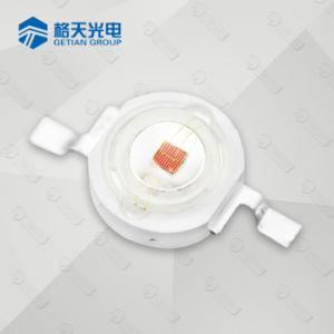 Alta potencia de 1W 620-630nm LED rojo para las luces de la etapa