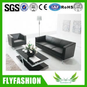 Mobilier de bureau utilisé populaire salle d'attente Sofa (D-36)