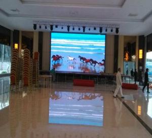 Heißer Verkauf P6, der LED-Bildschirm örtlich festgelegte LED-Innenbildschirmanzeige bekanntmacht