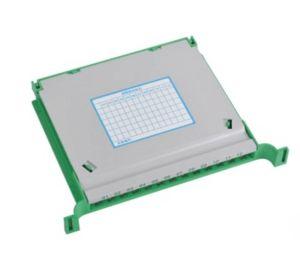 ODF 24 núcleos montada en rack 19'' la red de distribución de Fibra Óptica FTTH Modula la unidad de verificación