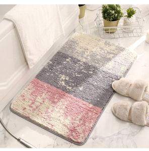 Tapis de bain baignoire flocage épaissie tapis antidérapant pour tapis de sol Bathmat