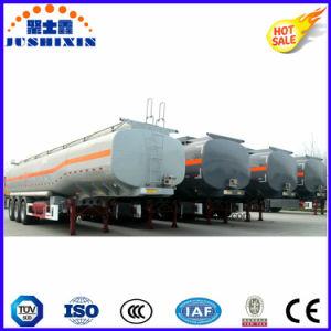 半3axle炭素鋼45000Lの燃料の実用的なタンク車のトレーラー