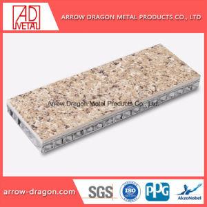 La piedra de granito de gran rigidez a los golpes del Panel de nido de abeja de aluminio para techo