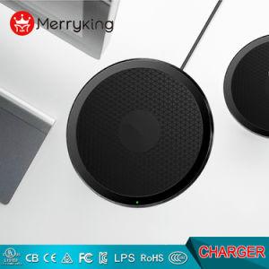 Comercio al por mayor nuevo diseño de carga rápida de Qi Universal cargador inalámbrico para teléfonos móviles