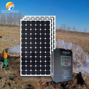 VFD MPPT Solar Inversor da bomba do sistema da bomba sem bateria 11kw 15HP