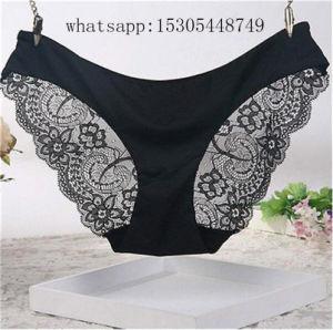 Venta caliente moda hermoso encaje suave señoras Sexy Bragas