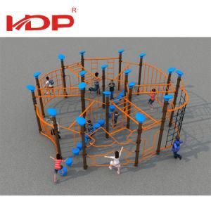 De multifunctionele Kabel die van de Speelplaats van de Jonge geitjes van de Geschiktheid OpenluchtDe Kabel van de Bergbeklimming beklimmen