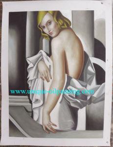 Olieverfschilderij, de Reproductie van het Olieverfschilderij, Olieverfschilderijen Lempica