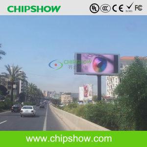 Vidéo de plein air Chipshow P10 pour la publicité prix d'usine affichage LED