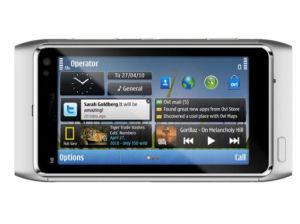 Telefone celular N8-00 com GPS e Bluetooth
