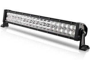 La barra chiara fuori strada 50inch 288W del LED ha curvato i formati differenti 18W di azionamento del lavoro del LED degli indicatori luminosi della nebbia delle lampade dell'obiettivo doppio chiaro di riga 4D alla barra chiara del camion LED della jeep 288W
