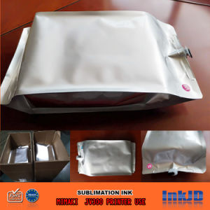 Mimakiのための交換可能な2000ml染料の昇華インク袋