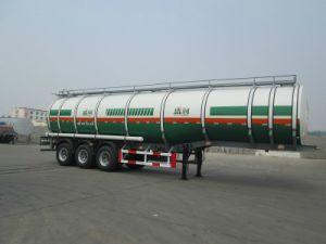 Tanker van de Diesel van de Aanhangwagen van de Tank van de Brandstof van de Legering van het aluminium de Lichte