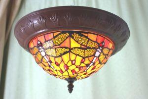 Tiffany Cerrar Lámpara de techo de la serie (CLC)