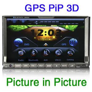 7 2 DIN HD Sat Nav DVD плеер GPS (ES728G)