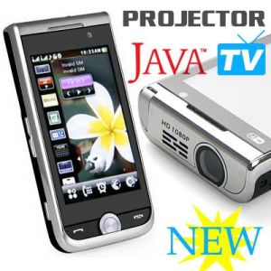 Telefono mobile del proiettore di P790 WiFi TV Java