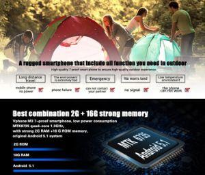Vphone No. 1 M3 IP68 Cellphone 4G Lte Smart Phone