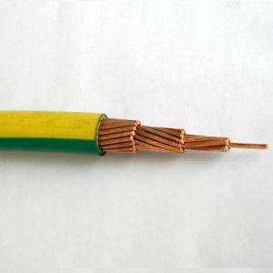 En aluminium solide souple cuivre multibrins isolés en PVC le fil électrique