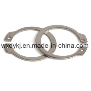 Anello di conservazione dell'acciaio inossidabile 304 per l'asta cilindrica
