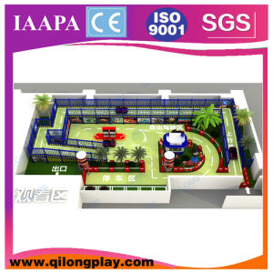 Pastel de colorido tema Parque Infantil interior (QL-17-2)