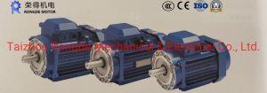 Квадратный алюминиевый корпус трехфазного асинхронного двигателя