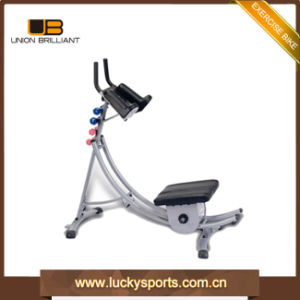 El Equipo de gimnasio instructor de ejercicio de la máquina abdominales Ab Coaster con comer Guilde y DVD Equipo de construcción del cuerpo