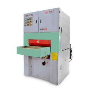 Automatischer breiter Riemen-reibende Poliermaschine