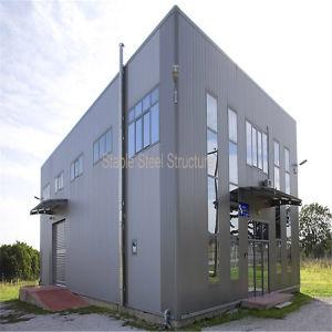 Estructura de acero de ingeniería comercial previa de los edificios de metal con un bajo coste