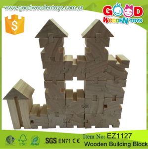 preço de fábrica 18 crianças de madeira de faia Natural forma de ensino aprendizagem cognitiva Building Block brinquedos para crianças