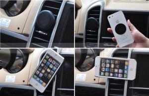 工場供給のユニバーサル台紙のエア・ベント車のiPhone 6の6プラスのアンドロイドのための磁気電話ホールダー