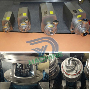 3t 16mの0.75kwステンレス鋼の衛生学のインペラーの遠心ポンプ