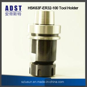 Portautensile del mandrino di anello Hsk63f-Er32-100 per la macchina di CNC