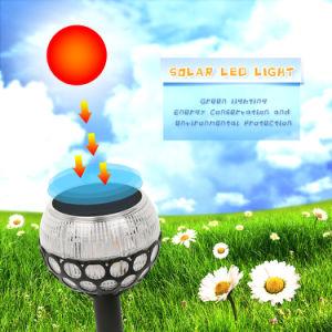 炎の明滅の球の形の太陽ライト