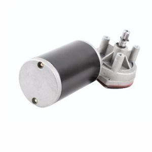 Cc12V 24V de alto par motor de engranaje helicoidal D49 D59 D63 D76 D88 para la máquina