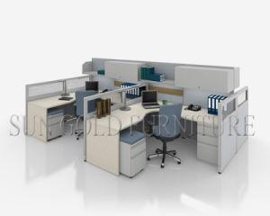 Basse cloison du plus défunt de bureau bureau gris clair moderne de